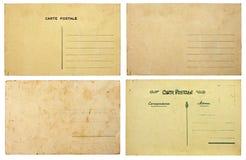 Accumulazione della cartolina dell'annata Fotografia Stock Libera da Diritti