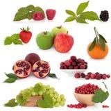 Accumulazione della frutta Immagini Stock