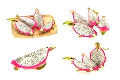 Accumulazione della frutta del drago Immagini Stock