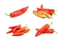 Accumulazione della frutta del pepe Fotografia Stock