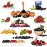 Accumulazione della frutta di bacca Fotografia Stock Libera da Diritti