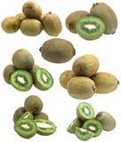 Accumulazione della frutta di kiwi fresca Fotografia Stock Libera da Diritti