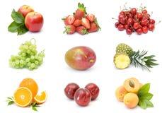 Accumulazione della frutta fresca Immagine Stock Libera da Diritti