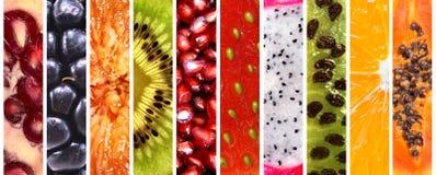 Accumulazione della frutta fresca Immagine Stock