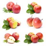 Accumulazione della frutta fresca della mela Fotografia Stock