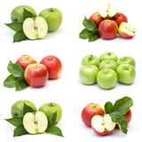 Accumulazione della frutta fresca della mela Fotografia Stock Libera da Diritti