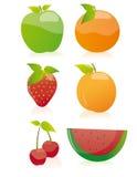 Accumulazione della frutta (vettore) Fotografia Stock