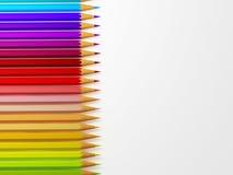 Accumulazione della matita Fotografie Stock Libere da Diritti