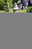 Accumulazione della mola e della pietra in iarda Immagine Stock