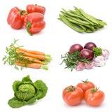 Accumulazione della verdura fresca Fotografia Stock Libera da Diritti