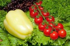 Accumulazione della vitamina delle verdure Immagini Stock Libere da Diritti