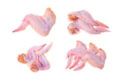 Accumulazione delle ali di pollo Immagini Stock Libere da Diritti