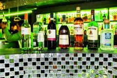 Accumulazione delle bevande alcoliche Fotografia Stock