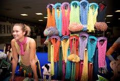 Accumulazione delle borse variopinte Fotografie Stock