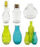 Accumulazione delle bottiglie di vetro Immagine Stock Libera da Diritti