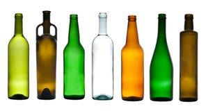 Accumulazione delle bottiglie vuote Immagini Stock Libere da Diritti