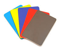 Accumulazione delle carte di credito Fotografia Stock