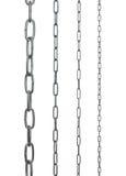Accumulazione delle catene del metallo Immagine Stock Libera da Diritti