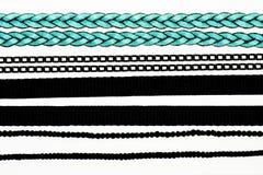 Accumulazione delle catene e delle corde Fotografia Stock Libera da Diritti