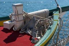 Accumulazione delle corde e dell'ancoraggio Immagini Stock