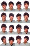 Accumulazione delle espressioni Fotografie Stock