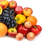 Accumulazione delle frutta e delle verdure Immagine Stock