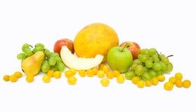 Accumulazione delle frutta e delle verdure mature di autunno Fotografia Stock Libera da Diritti