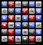 Accumulazione delle icone. immagine stock libera da diritti