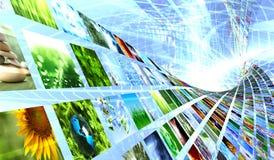 Accumulazione delle immagini Fotografie Stock