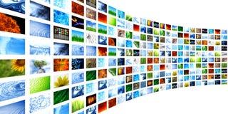 Accumulazione delle immagini Immagini Stock Libere da Diritti