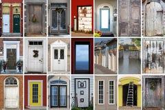 Accumulazione delle immagini del portello Fotografie Stock