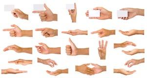Accumulazione delle mani Immagini Stock Libere da Diritti