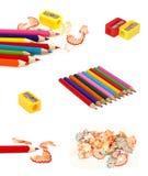Accumulazione delle matite Immagini Stock
