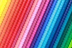 Accumulazione delle matite di colore Immagine Stock