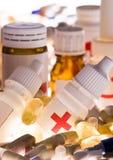 Accumulazione delle medicine Immagini Stock