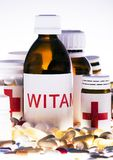Accumulazione delle medicine Fotografia Stock Libera da Diritti