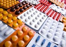 Accumulazione delle medicine - pillole Immagini Stock Libere da Diritti
