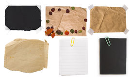 Accumulazione delle note di carta Immagini Stock Libere da Diritti