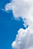Accumulazione delle nuvole di pioggia Fotografia Stock