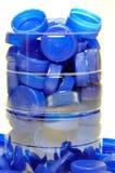 Accumulazione delle protezioni di plastica Immagini Stock Libere da Diritti