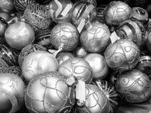 Accumulazione delle sfere di natale, Italia Immagini Stock