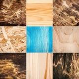 Accumulazione delle strutture di legno Fotografia Stock