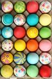Accumulazione delle uova di Pasqua Fotografia Stock Libera da Diritti