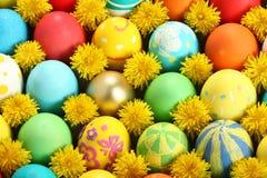 Accumulazione delle uova di Pasqua Immagine Stock Libera da Diritti