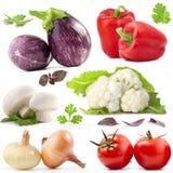 Accumulazione delle verdure Fotografie Stock
