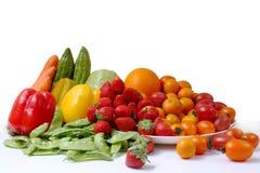 Accumulazione delle verdure e delle frutta Fotografie Stock Libere da Diritti