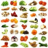 Accumulazione delle verdure fresche e variopinte Fotografia Stock Libera da Diritti