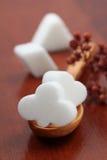 Accumulazione dello zucchero - vestito bianco della scheda Immagine Stock