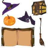Accumulazione di Halloween Fotografia Stock
