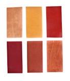 Accumulazione di leatherette Fotografie Stock Libere da Diritti